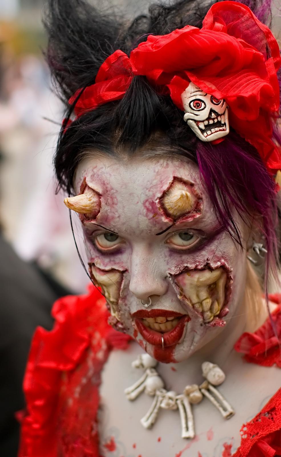 Halloween Makeup For Woman