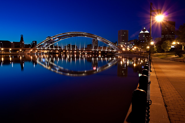 Rochester and the Douglass-Anthony Bridge