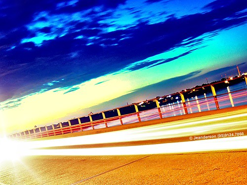 longexposure bridge light sunset brazil sun brasil sunrise river interestingness trails ponte motionblur laser manaus amazonas roraima amazonia boavista riobranco macuxi