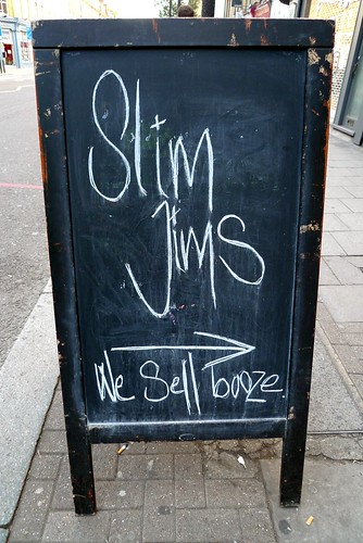 Slim Jim's Liquor Store, Islington, N1