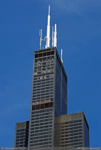 The sears tower willis tower flickr photo sharing for How many floors are in the sears tower