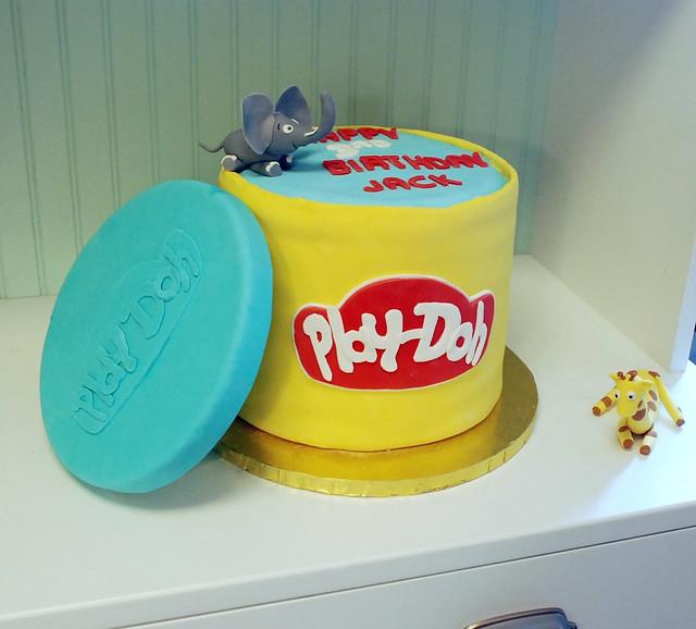 play doh cake for jack flickr photo sharing. Black Bedroom Furniture Sets. Home Design Ideas