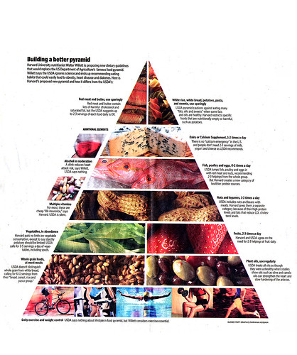 Walter Willette Revised Food Pyramid