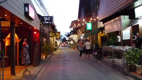 Koh Samui Bophut Beach Road コサムイ ボープットビーチロード4