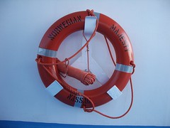 personal protective equipment, red, lifebuoy, circle, blue,