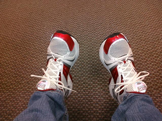 Red Reebok Running Shoes