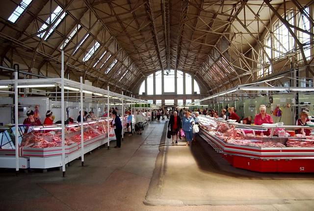 Riga Central Market - IWW Zeppelin hangars