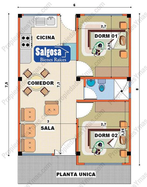 Modelo de casa de campo 1 piso plano flickr photo for App para hacer planos