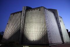 tower block(0.0), silo(0.0), skyscraper(0.0), building(1.0), landmark(1.0), architecture(1.0), brutalist architecture(1.0), facade(1.0),
