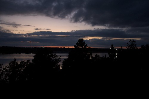 sunset lake oklahoma raw keystone tulsa d90 mannford