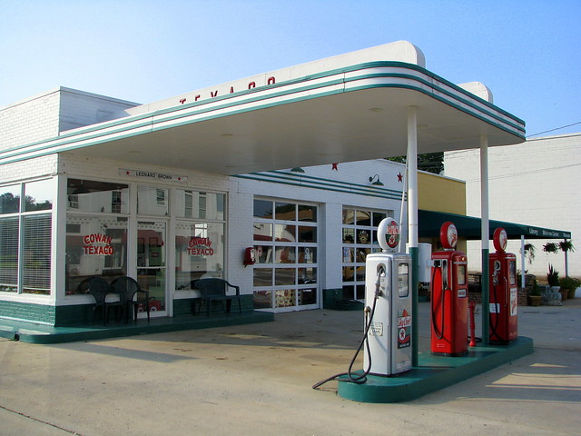 Vintage Cowan Tn Texaco The Local Vinatge Gas Station