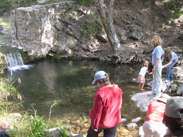 Fish dam and pool silverado canyon santa ana mountains for Fishing in orange county
