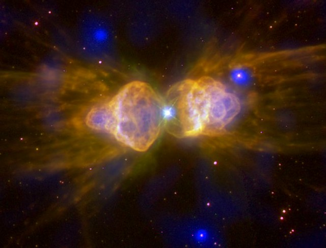Ant Nebula: Fast Winds From a Dying Star (NASA, Chandra ...
