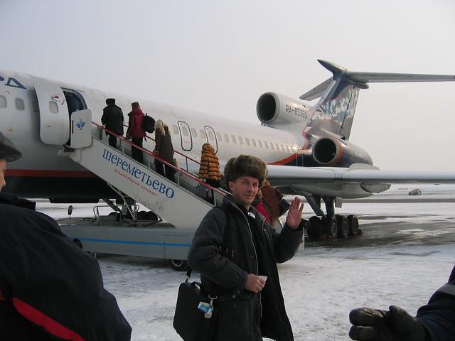 Moscow, Sheremetevo