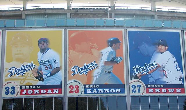 Dodger Stadium mural