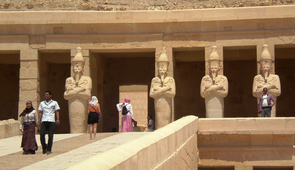 Luxor - Temple of Hatchepsut III
