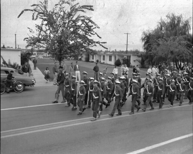 Fire Prevention Parade 1955, School Crossing Guards