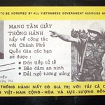 Vietnam War Safe Conduct Pass