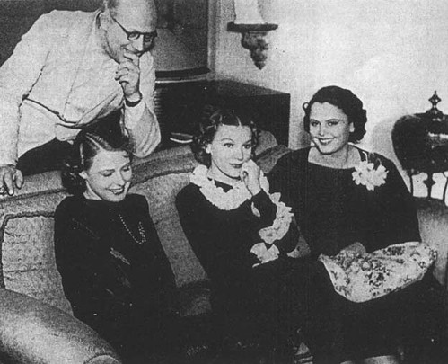 Ingrid Bergman Gustaf Molander Tutta Rolf Birgit Tengroth 1938