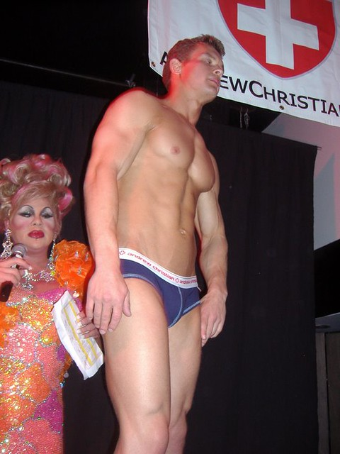 andrew christian fashion show