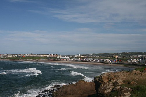 Portrush during the Airshow