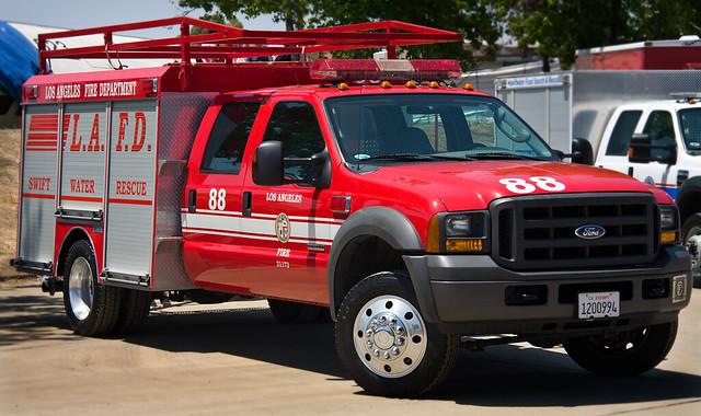 Los Angeles Fire Department Swift Water 88