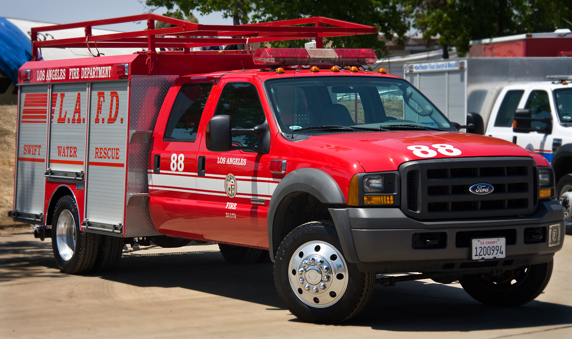 Los Angeles Fire Department Swift Water 88