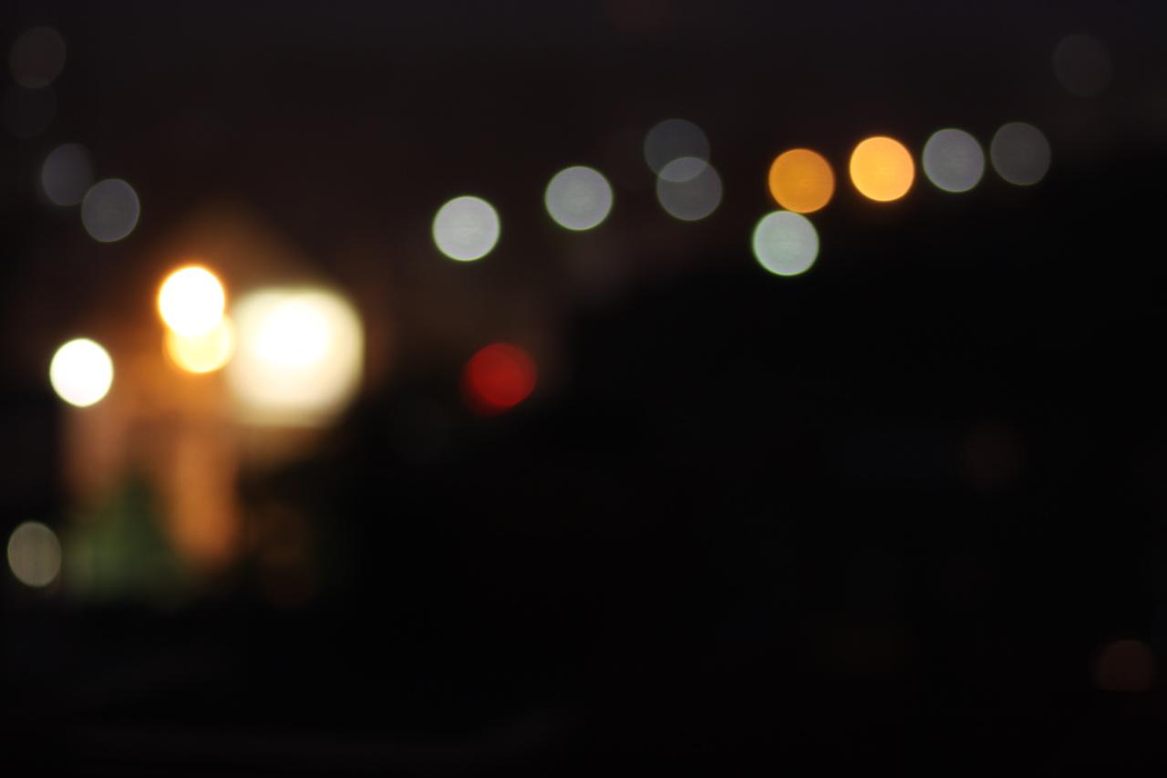 street light bokeh - photo #7