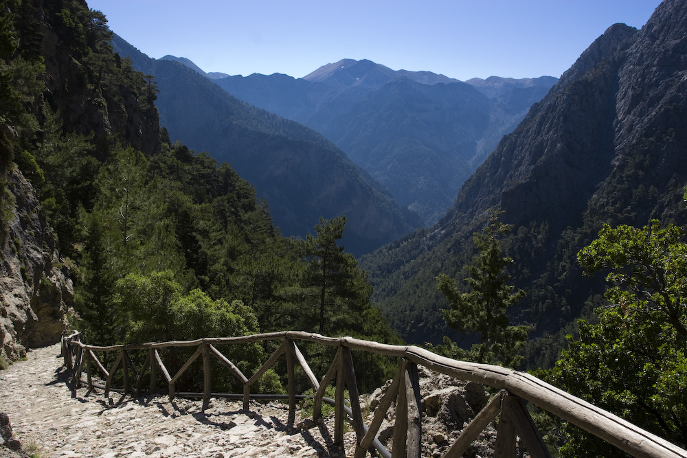 Best Walks in Europe: Samaria Gorge, Crete, Greece
