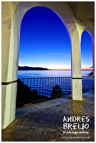 sea españa sunrise mar spain andalucia amanecer malaga andres nerja arcos axarquia balcondeeuropa canon450d breijo andresbreijo