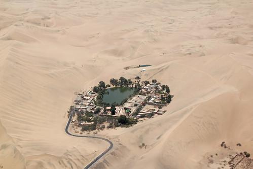 peru water sand desert pacific dunes flight dry oasis ica huacachina humbolt