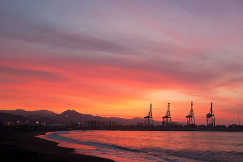 sea sky night sunrise mar cloudy amanecer cielo malaga huelin gruas quinoal doublyniceshot mygearandme mygearandmepremium mygearandmebronze ringexcellence