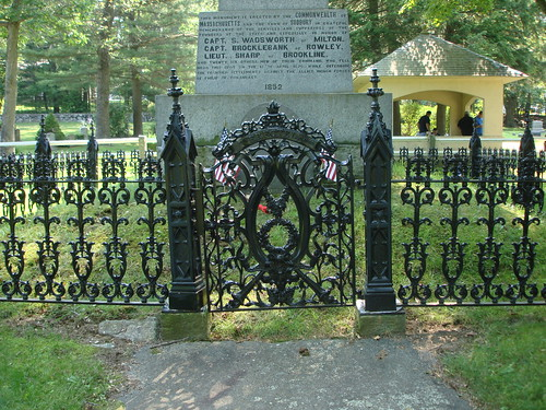 Wadsworth Cemetery Gate by midgefrazel