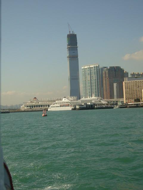 The Cruise Ship Terminal At Harbour City Kowloon Hong