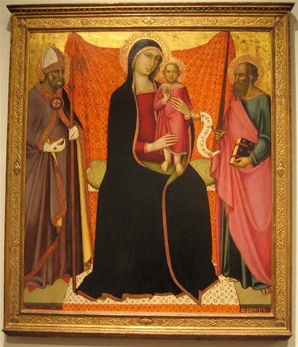 Madonna and Child with Sts. Nicholas and Paul