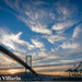 Vincent Thomas Bridge draped in awesome by Bryan Villarin