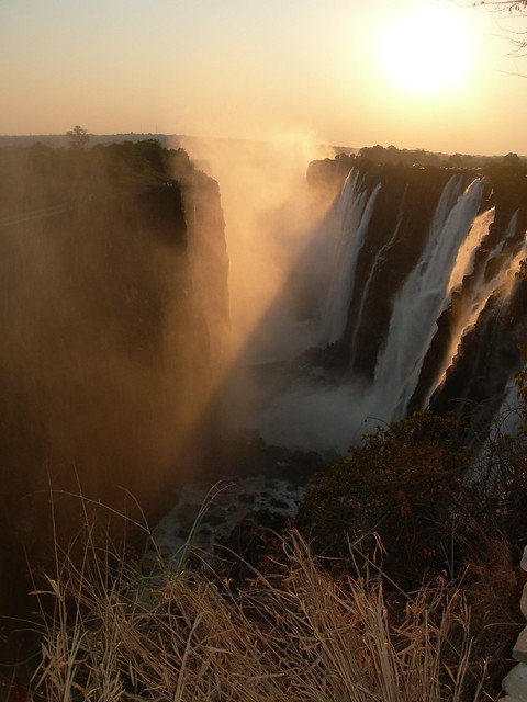 the end of the day in victoria falls