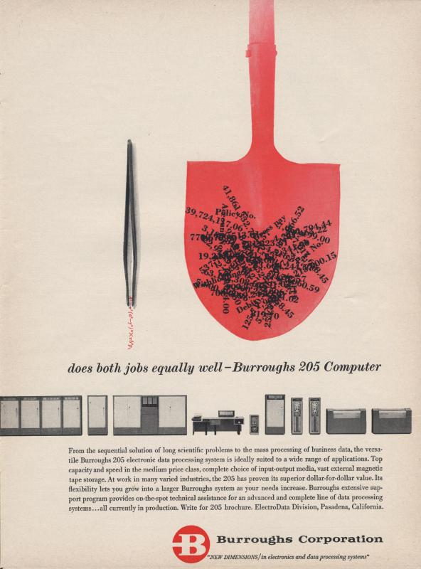 Burroughs Corporation Ad