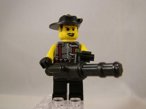 BrickArms Minigun Prototype 01