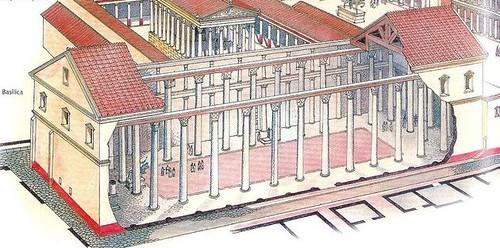 Pompeii Basilica reconstruction