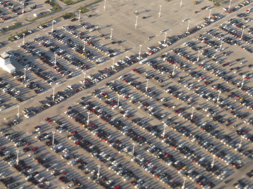 Parking Lot: Houston George Bush Intercontinental Airport