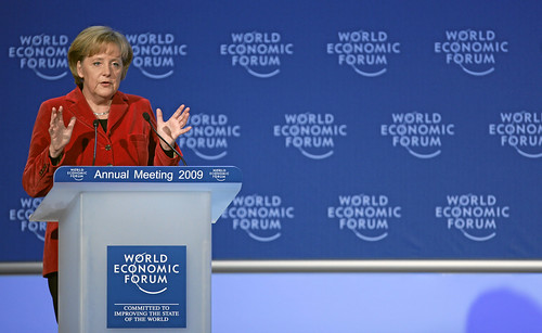 Angela Merkel - World Economic Forum Annual Meeting Davos 2009