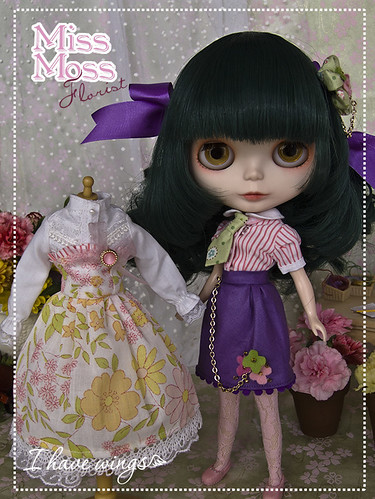 Blythe Custom doll Japan - Miss Moss - by I HAVE WINGS -
