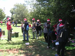 xmas party in park