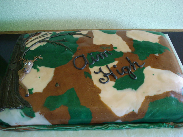 Camo Cake Decorating Supplies