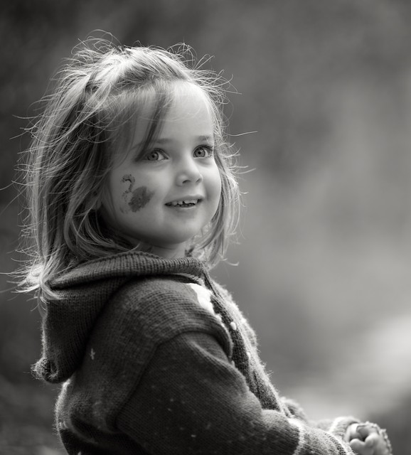 Happy little girl | Flickr - Photo Sharing!