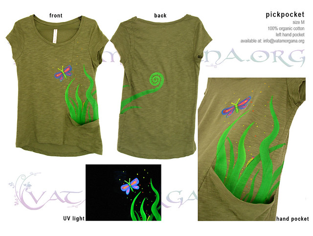 Pickpocket T-shirt for women by vataa