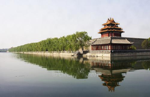 Northwest Corner of the Forbidden City