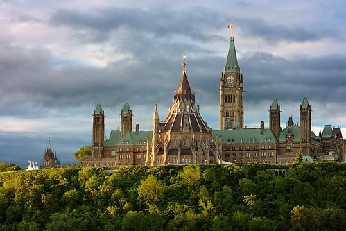 ontario canada building architecture sunrise ottawa parliament nspp