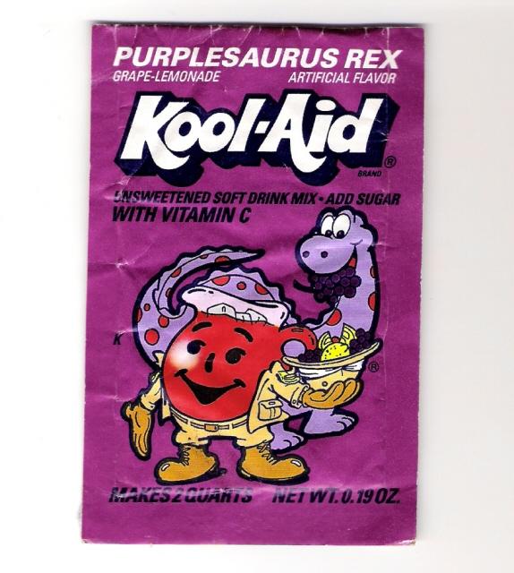Kool aid Purplesaurus Rex